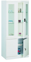 99552554 Szafa lekarska, 3 półki, 4 drzwi (wymiary: 1800x800x435 mm)