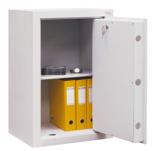 99552674 Sejf gabinetowy dwupłaszczowy II klasy, 1 półka, 1 drzwi (wymiary: 650x600x520 mm)