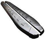 DOSTAWA GRATIS! 01655964 Stopnie boczne, czarne - Porsche Cayenne 2010- (długość: 193 cm)