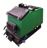 DOSTAWA GRATIS! 06652792 Kocioł załadunku ręcznego 25kW z czujnikiem temperatury spalin oraz sterownikiem (paliwo: węgiel, drewno, miał)