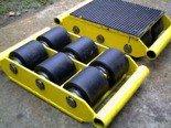 DOSTAWA GRATIS! 12235592 Wózek stały 6 rolkowy, rolki: 6x nylon (nośność: 6 T)