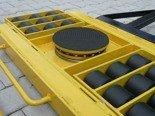 DOSTAWA GRATIS! 12235610 Wózek skrętny 18 rolkowy, rolki: 18x kompozyt (nośność: 28 T)