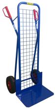 DOSTAWA GRATIS! 13367458 Wózek dwukołowy ręczny z siatką do przewozu ciężkich przedmiotów (nośność: 200 kg)