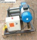 DOSTAWA GRATIS! 28863935 Elektryczna wciągarka linowa (siła uciągu: 640/475  kg, długość liny: 160m, moc: 2,2kW)