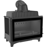 DOSTAWA GRATIS! 30055009 Wkład kominkowy 14kW Franek (szyba prosta) - spełnia Ekoprojekt