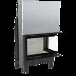 DOSTAWA GRATIS! 30055014 Wkład kominkowy 10kW MBM BS Gilotyna (prawa boczna szyba bez szprosa, drzwi podnoszone do góry) - spełnia Ekoprojekt