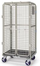 DOSTAWA GRATIS! 39955546 Wózek skrzynkowy (wymiary: 1100x800x170mm)