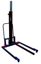 DOSTAWA GRATIS! 61764870 Podnośnik hydrauliczny do rolek (udźwig: 200 kg)