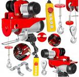 DOSTAWA GRATIS! 63900 Wciągarka elektryczna z wózkiem suwnicowym 230V (udźwig: 445/990kg)