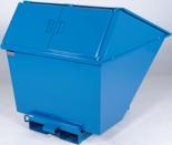 DOSTAWA GRATIS! 99724689 Pojemnik wychylny z pokrywą GermanTech TL 2700 (pojemność: 2050 L)