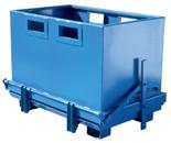 DOSTAWA GRATIS! 99724710 Pojemnik z dolną klapą GermanTech BTC 07 (pojemność: 700 L)