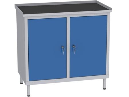 00142054 Szafka warsztatowa, 2 drzwi (wymiary: 850x900x505 mm)