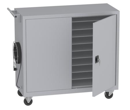 00150455 Wózek na laptopy na 16 kompletów (wymiary: 1130x1200x500 mm)