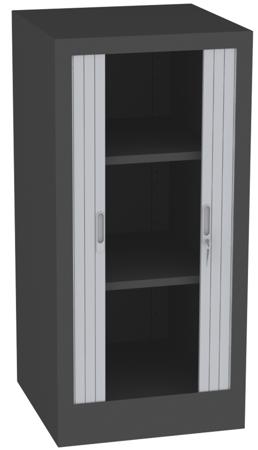 00150695 Szafa żaluzjowa, 2 półki (wymiary: 1250x600x600 mm)