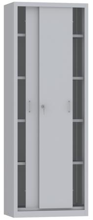 00150797 Szafa przesuwna, 4 półki (wymiary: 1950x700x600 mm)
