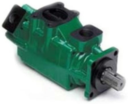 01539209 Pompa hydrauliczna łopatkowa dwustrumieniowa B&C HQ31G2408 (objętość geometryczna: 78,3+27,4 cm³, maksymalna prędkość obrotowa: 2500 min-1 /obr/min)