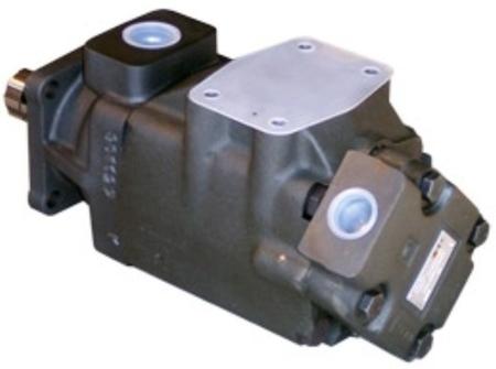 01539215 Pompa hydrauliczna łopatkowa dwustrumieniowa B&C HQ31G2811 (objętość geometryczna: 91,2+36,4 cm³, maksymalna prędkość obrotowa: 2500 min-1 /obr/min)