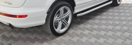 01655675 Stopnie boczne - Audi Q7 2006-2014 (długość: 205-210 cm)
