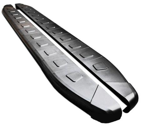 01655970 Stopnie boczne, czarne - SsangYong Kyron (długość: 182 cm)