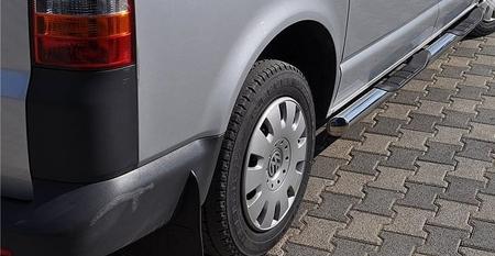 01656394 Orurowanie ze stopniami z zagłębieniami - Volkswagen T6 Short 4 stopnie