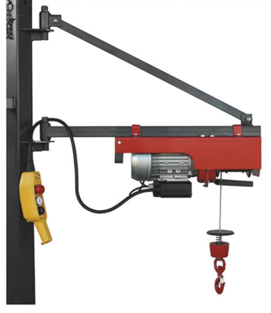 08126407 Wciągarka elektryczna linowa budowlana Camac Minor P-150 (udźwig: 150 kg)