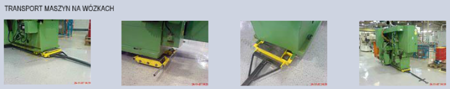 12235593 Wózek stały 6 rolkowy, rolki: 6x kompozyt (nośność: 12 T)