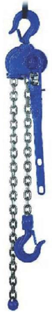DOSTAWA GRATIS! 2202557 Wciągnik dźwigniowy z łańcuchem ogniwowym RZC/6.3t (wysokość podnoszenia: 1,5m, udźwig: 6,3 T)