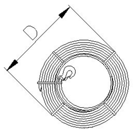 2203111 Wciągnik linowy 30.00/1.6t (długość liny: 30m, udźwig: 1,6 T)