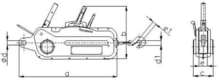 2203115 Wciągnik linowy 30.11/3.2t (długość liny: 30m, udźwig: 3,2 T)