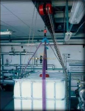 2209153 Wciągnik łańcuchowy z przekładnią planetarną Z100/1.0t (wysokość podnoszenia: 6m, udźwig: 1 T)
