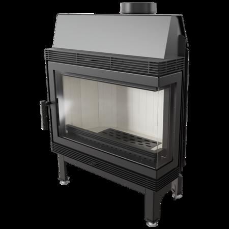 30040870 Wkład kominkowy 11kW Blanka 670/570 BS (prawa boczna szyba bez szprosa)