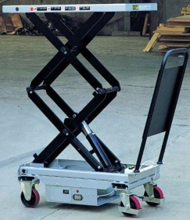 310568 Ruchomy stół podnośny elektryczny ES80D (udźwig: 800 kg, wymiary platformy: 1010x520 mm)