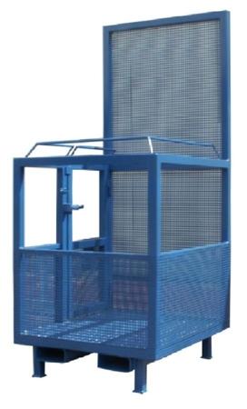 33948643 Kosz na ludzi do wózka widłowego miproFork TWK-P 1000 (udźwig: 300 kg, powierzchnia podłogi: 1000x1200 mm)