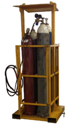 33948676 Kosz na butle z gazem do wózka widłowego miproFork TWG 8 (udźwig: 700 kg, ilość butli: 8)