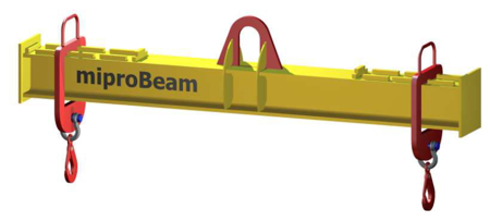 33948760 Trawers z regulowanymi hakami miproBeam TRR A-M 0,5 3000 (udźwig: 0,5 T, długość: 3000 mm)
