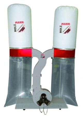 44349892 Odciąg do trocin Holzmann ABS 3880 400V (wydajność: 3880 m3/h, moc: 1,7/2,6 kW)