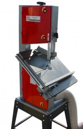 44349938 Piła taśmowa Holzmann HBS 300J (wymiary obrabianego przedmiotu: 305/165 mm, wymiary blatu: 500x400 mm)