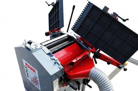 44349962 Strugarko-grubosciówka Holzmann HOB 310NL 230V (szerokość/wysokość obróbki: 310/180 mm, długość blatu wyrówniarki: 1285 mm)