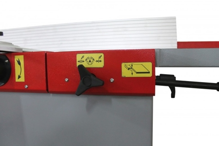 44349966 Strugarko-grubościówka Holzmann HOB 410P (szerokość/wysokość obróbki: 410/225 mm, długość blatu wyrówniarki: 1800 mm)