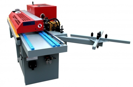 44349980 Okleiniarka Holzmann KAM 115P (zakres grubości obrabianego elementu: 10 - 45 mm, wymiary stołu: 2050 x 800 mm)
