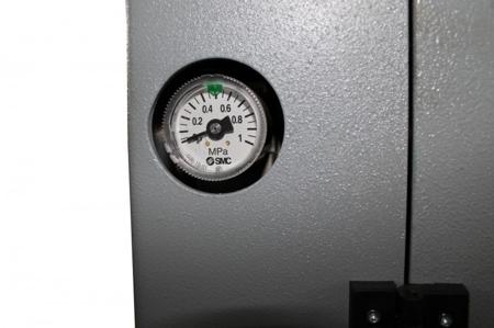 44349982 Okleiniarka Holzmann KAM 150P Stomana (zakres grubości obrabianego elementu: 10 - 45 mm, wymiary blatu: 2200 x 400 mm)