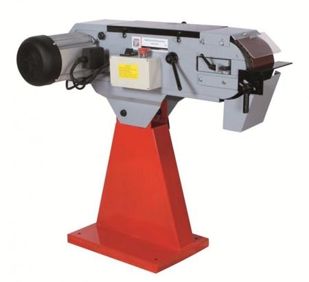 44350102 Szlifierka taśmowa do metalu Holzmann MSM 150 (wymiary taśmy: 2000x150 mm, prędkość taśmy: 18/37m/min, moc: 6 kW)