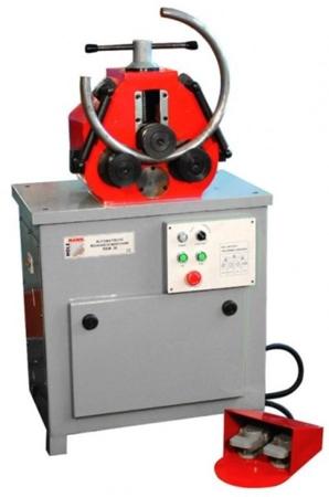 44350125 Giętarka Holzmann RBM 30 (gięcie profili prostokątnych pełnych/pustych: 30x10/30 x30mm 1 mm, moc: 1,7 kW)