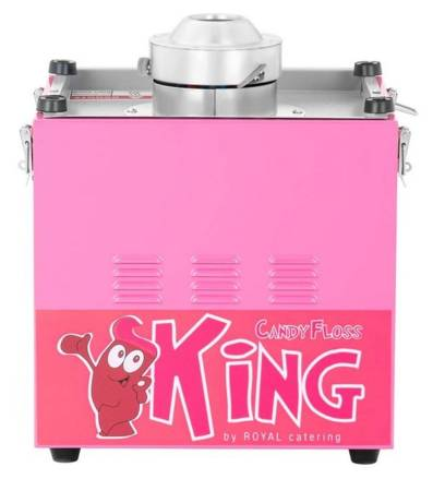 45643429 Maszyna do waty cukrowej z pokrywą Royal Catering RCZK-1200E (moc: 1,2kW, rozmiar garnka: 52cm)