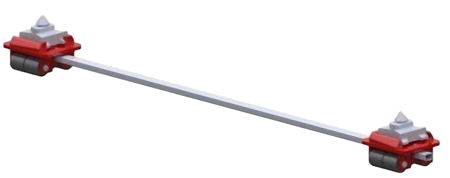 49942929 Podwozie tandemowe cointaimer F6 (nośność: 6T)
