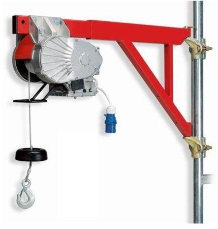 55547198 Wciągarka budowlana elektryczna Bellussi HE 235 (udźwig: 200 kg, długość liny: 25m)