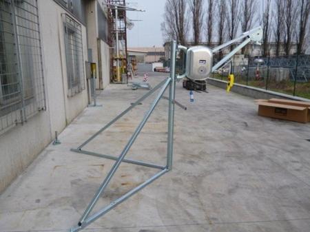 55550371 Wciągarka budowlana elektryczna Bellussi HE 325 MF, obrotowa bez podstawy (udźwig: 300 kg, długość liny: 30m)