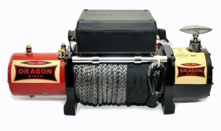 55960151 Wyciągarka samochodowa Dragon Winch Maverick DWM 12000 HD S 12V hamulec dynamiczny, z liną stalową 28m (udźwig: 12000 lb/ 5443 kg, silnik: 6,8KM)