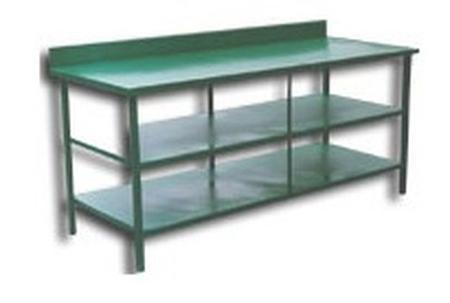 77156881 Stół montażowy, 2 półki (wymiary: 2000x900x900 mm)