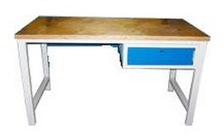 77156903 Stół warsztatowy, 1 szuflada (wymiary: 2000x750x900 mm)